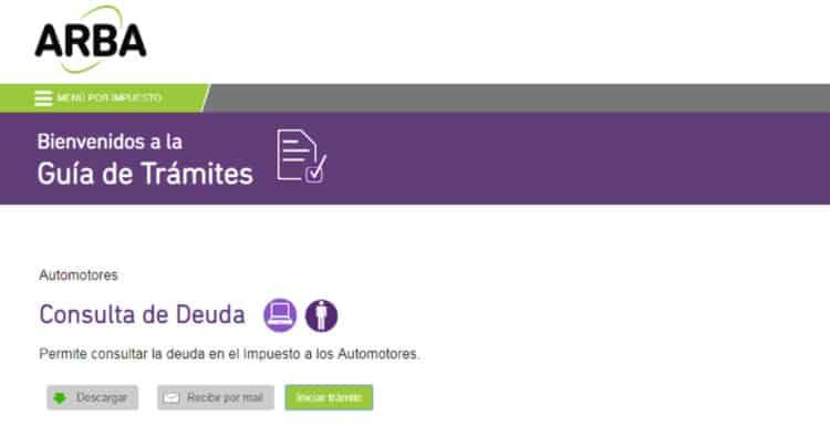 arba patentes municipalizadas motos