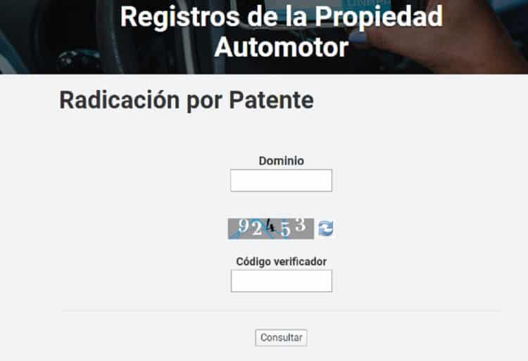 dnrpa radicación por patente