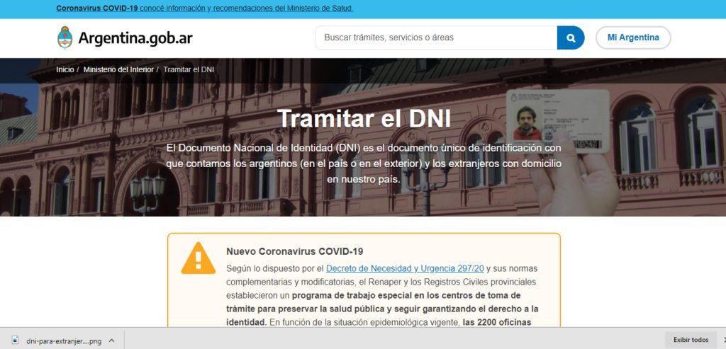 El Documento Nacional de Identidad (DNI)